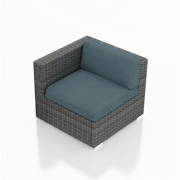 Hobbs Patio Chair with Cushion by Rosecliff Heights