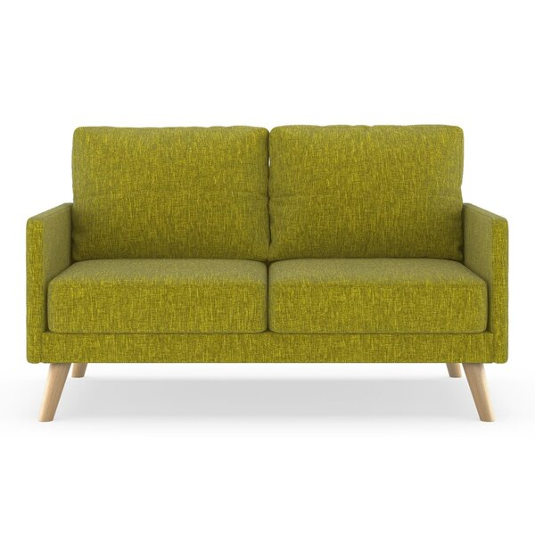 Crader Pebble Weave Loveseat by Corrigan Studio