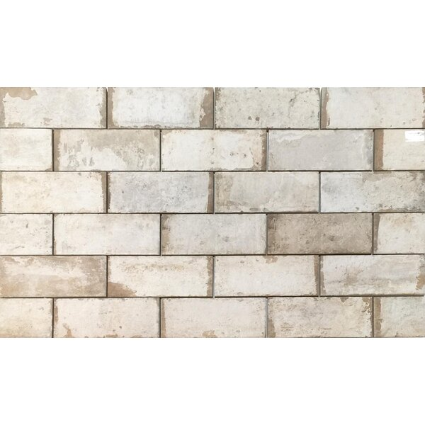 Havana 4 x 8 Porcelain Subway Tile in Sugar Cane by Tesoro