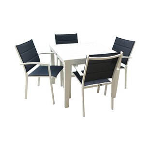 Patrica Outdoor 5 Piece Dining Set By Orren Ellis