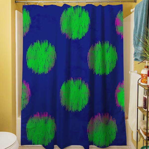 Big Dots Shower Curtain by Manual Woodworkers & Weavers