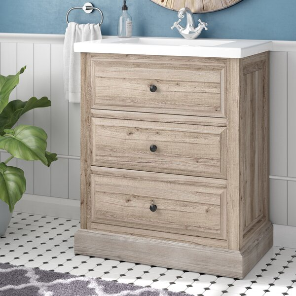 Clemmie 30 Single Bathroom Vanity Set by Laurel Foundry Modern Farmhouse