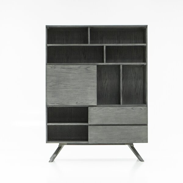 Kern Geometric Bookcase By Brayden Studio