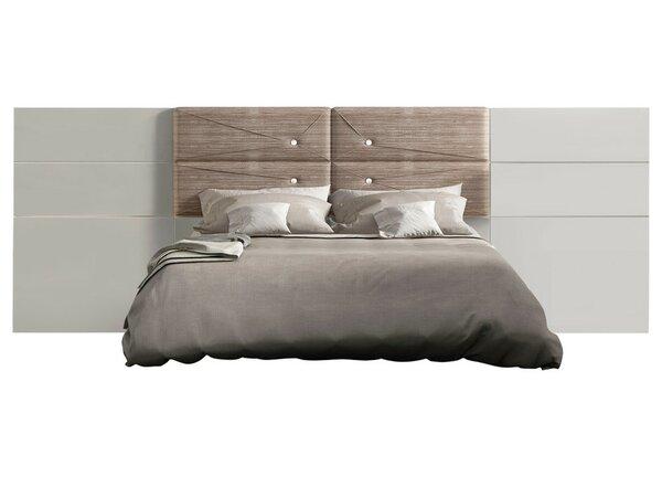 Berkley High Gloss Upholstered Standard Bed by Orren Ellis Orren Ellis