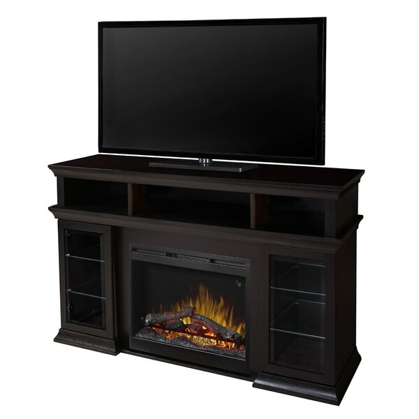 Bennett 60 TV Stand with Electric Fireplace by Dimplex