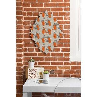 Mummysam Bicycles Wall Clock by Deny Designs