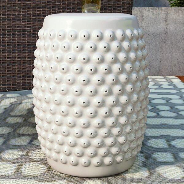 Stevie Nail Head Garden Stool by Zipcode Design