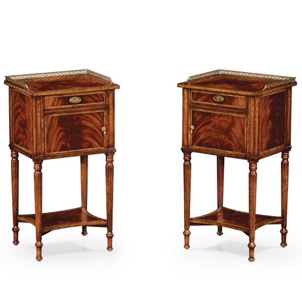 1 Drawer Nightstand (Set Of 2) By Jonathan Charles Fine Furniture