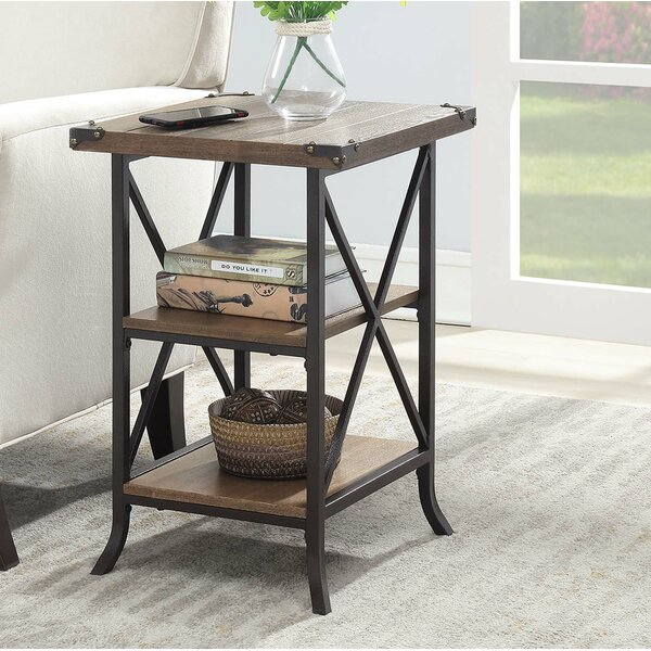 Justina End Table by Laurel Foundry Modern Farmhouse