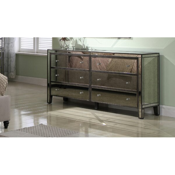 Kaylyn 6 Drawer Double Dresser by Rosdorf Park