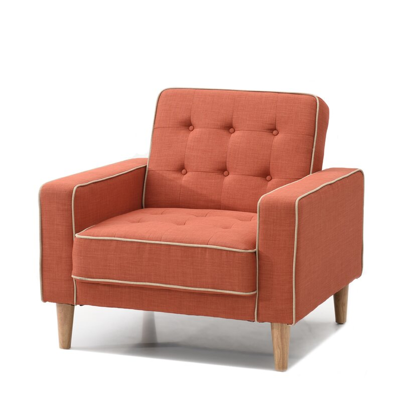 Shayne Convertible Chair By Ivy Bronx Inexpensive Accent