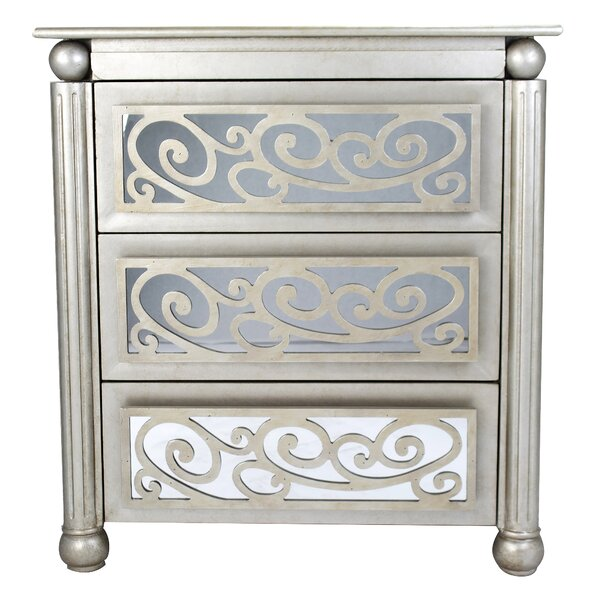 Alleyne 3 Drawer Accent Chest by Rosdorf Park Rosdorf Park
