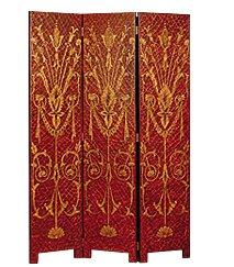 Sunburst 3 Panel Room Divider by JB Hirsch Home Decor