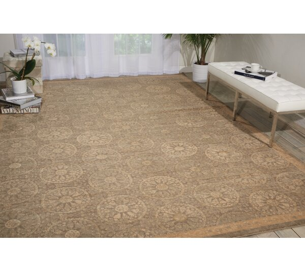 Hillsboro Sand Area Rug by Darby Home Co