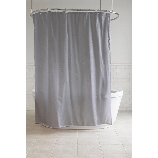 Midhurst Fabric Shower Curtain by Everly Quinn