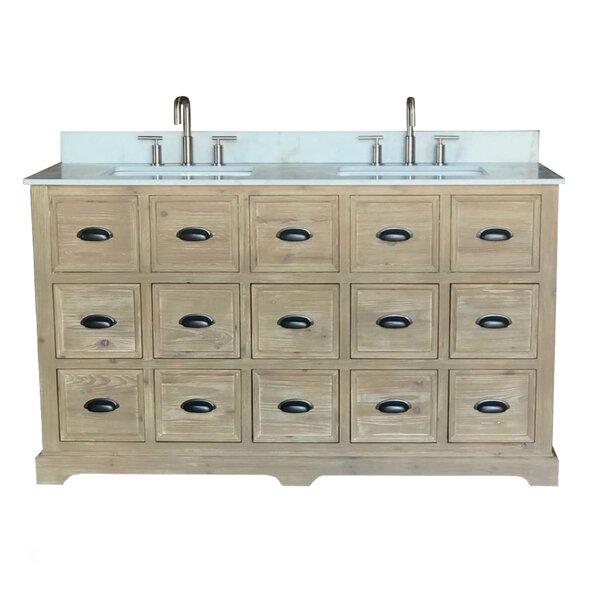 Chunn 60 Double Bathroom Vanity Set by Gracie Oaks