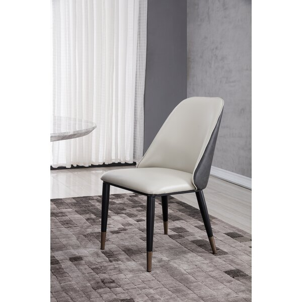 Cogdill Upholstered Side Chair In Light Gray (Set Of 2) By Corrigan Studio