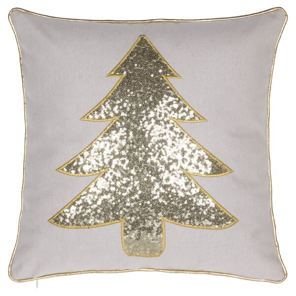 Ahana Christmas Tree Throw Pillow by Willa Arlo Interiors