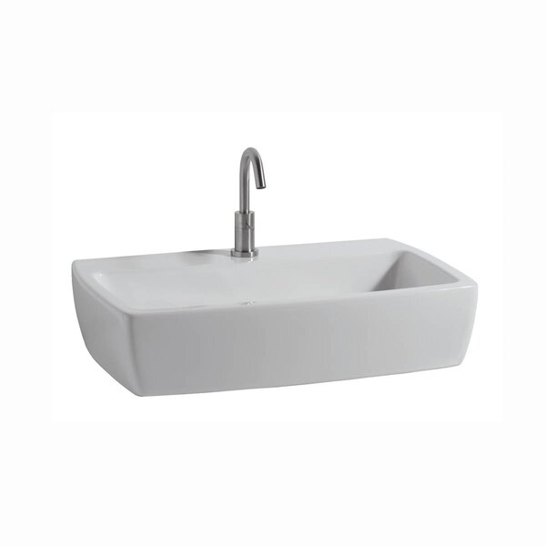 X-Tre Ceramic Ceramic Rectangular Vessel Bathroom Sink by WS Bath Collections