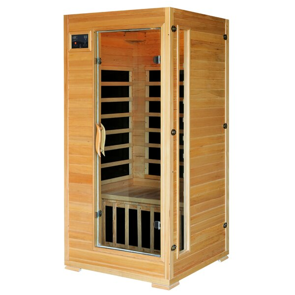 Madison 2 Person FAR Infrared Sauna by Radiant Saunas