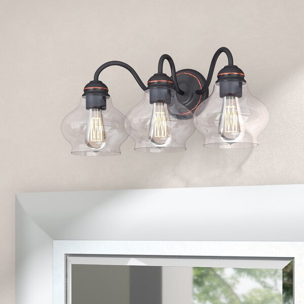 Bateson 3-Light Vanity Light by Three Posts