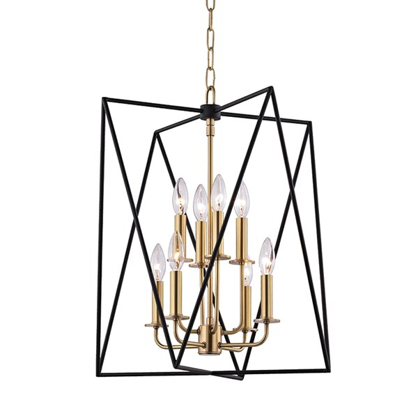 Fitz 8-Light Square/Rectangle Chandelier by Willa Arlo Interiors