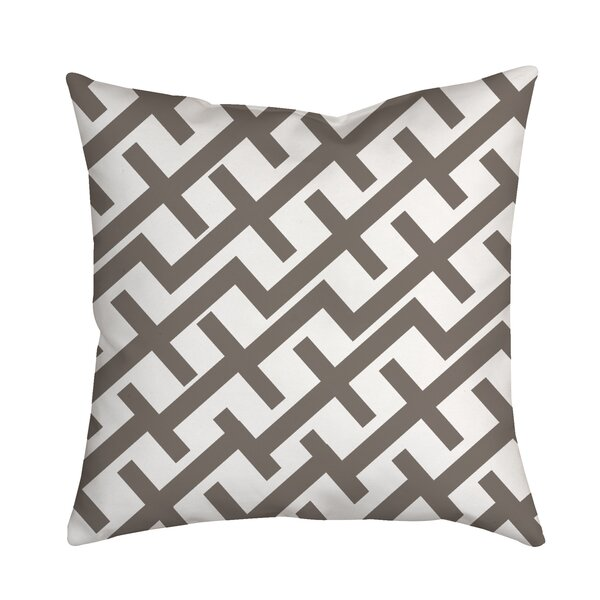 Positive Lines Geometric Throw Pillow by Positively Home