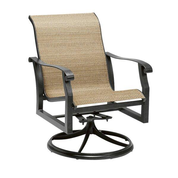 Cortland Swivel Patio Dining Chair by Woodard Woodard