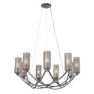 Great Price Bolanos 9-Light Shaded Chandelier By Orren Ellis