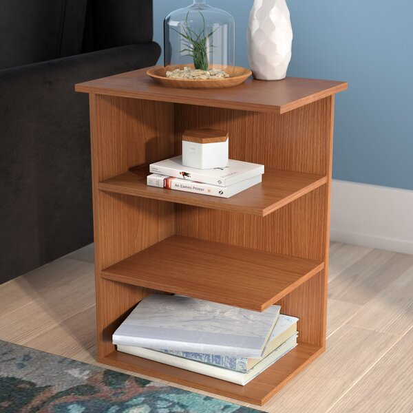 Galilee Modern 3 Shelf End Table by Ebern Designs