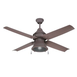 Affordable 52 Martika 4-Blade Ceiling Fan By 17 Stories