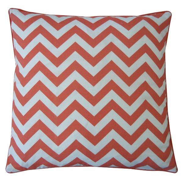 Barbara Zig Zag Cotton Lumbar Pillow by Latitude Run