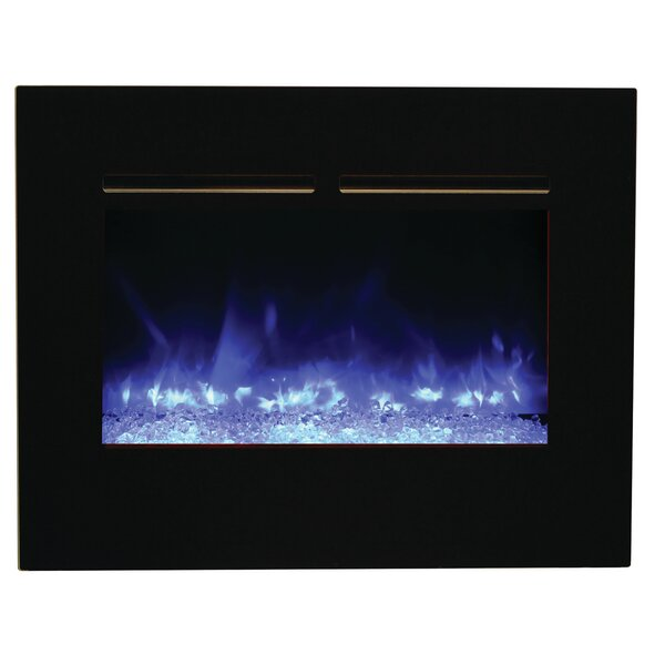 Zero Clearance Wall Mounted Electric Fireplace by Amantii