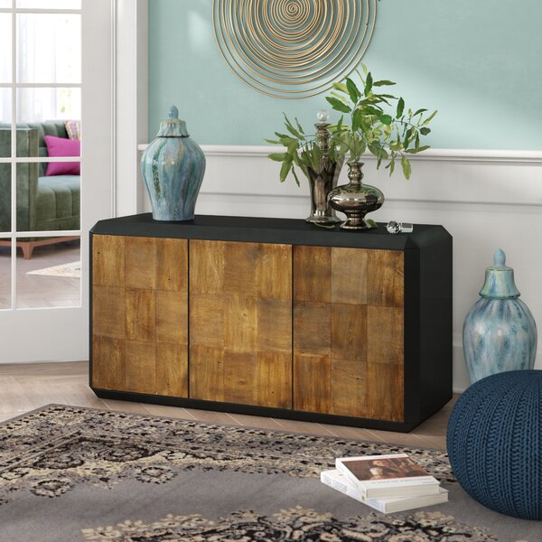 Winifred 3 Door Accent Chest by Mistana