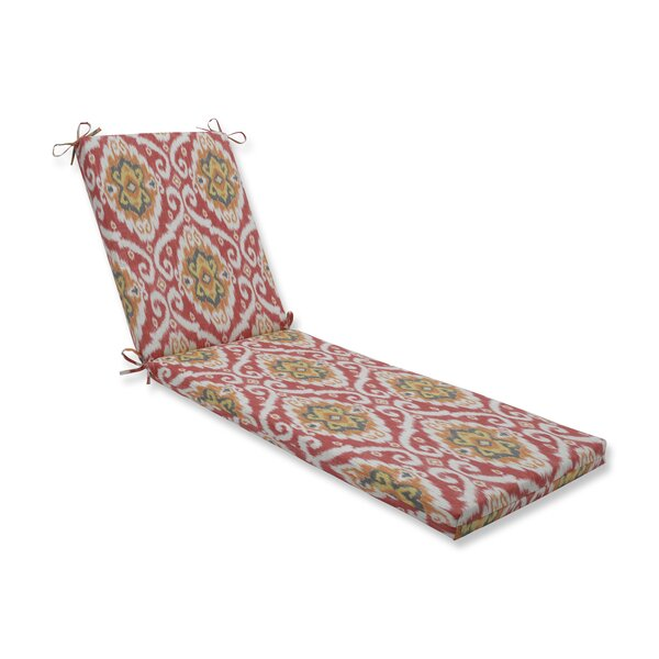 Coral Indoor/Outdoor Chaise Lounge Cushion by Bloomsbury Market
