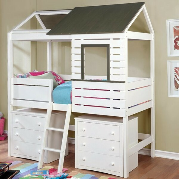 Oldenburg Twin Platform Bed by Zoomie Kids