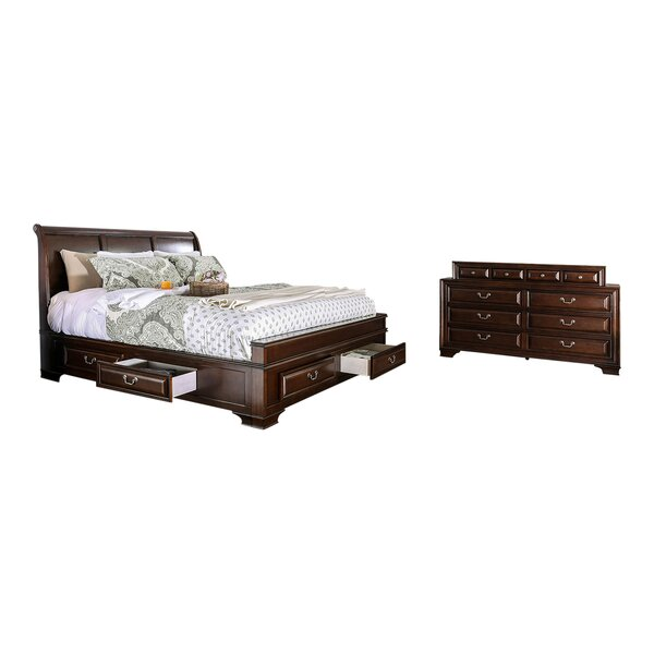 Brodnax Standard Configurable Bedroom Set by Charlton Home