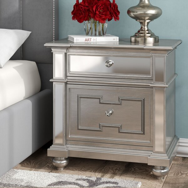 Ronna 2 Drawers Nightstand by Willa Arlo Interiors