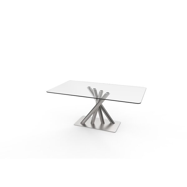 Chitern Dining Table by Orren Ellis Orren Ellis