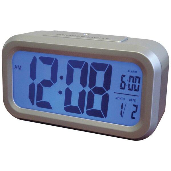Smart Backlight Alarm Table Clock by Ebern Designs