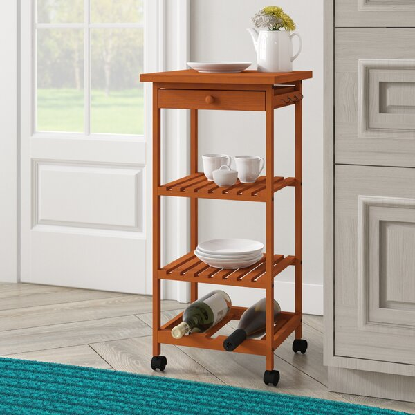 Montserrat Rolling Table Kitchen Cart by Winston Porter