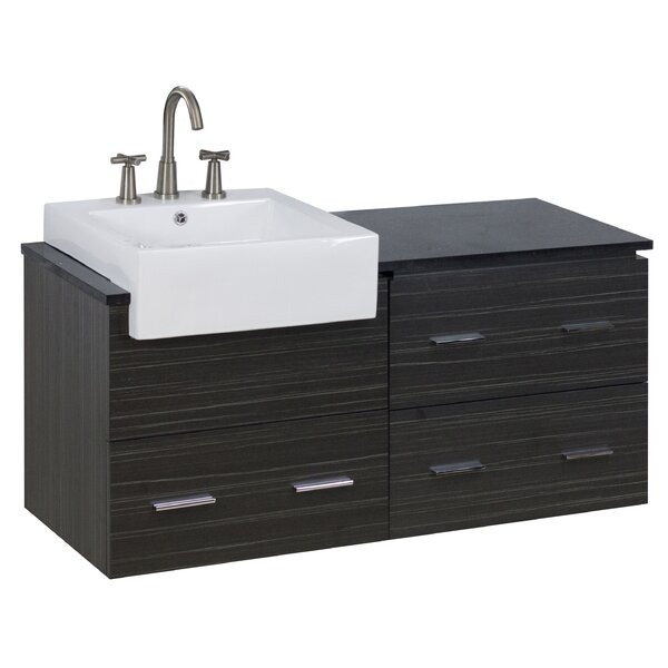 48 Single Modern Wall Mount Bathroom Vanity Set by American Imaginations