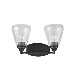 Best Deals Crosson Transitional Metal 2-Light Vanity Light By Darby Home Co