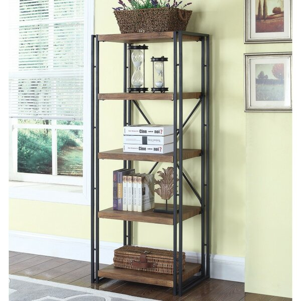 Mcbroom Narrow Industrial Etagere Bookcase by Ivy Bronx