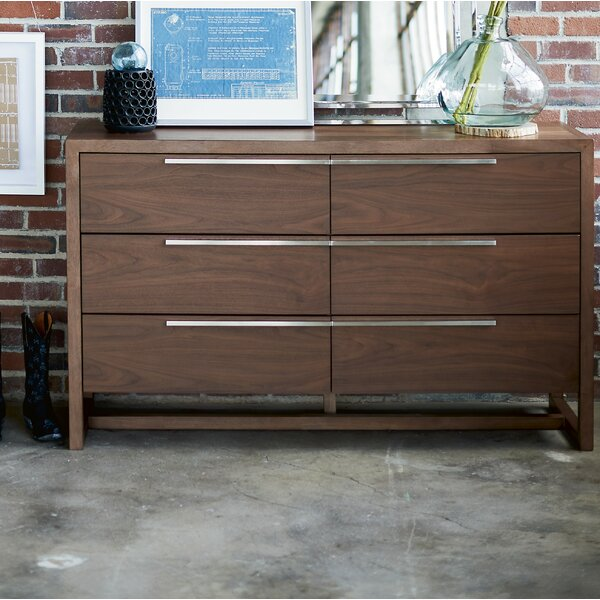 Bazemore 6 Drawer Double Dresser by Orren Ellis