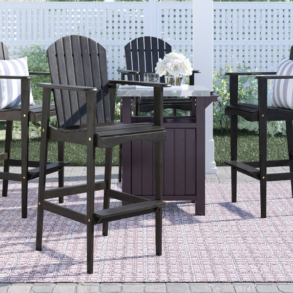 Lovina Solid Wood Adirondack Chair by Rosecliff Heights Rosecliff Heights