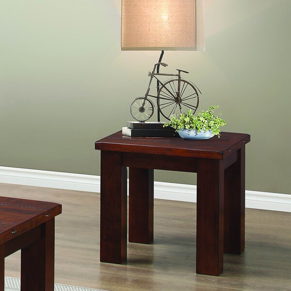 Curacao End Table by Loon Peak