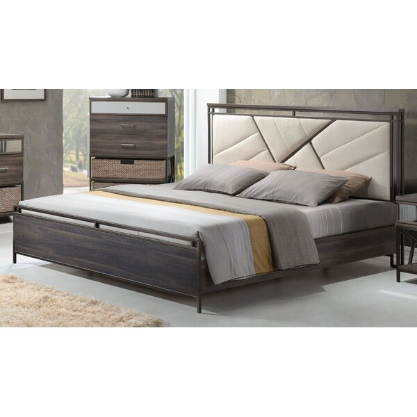 South Ferry Upholstered Standard Bed by Union Rustic