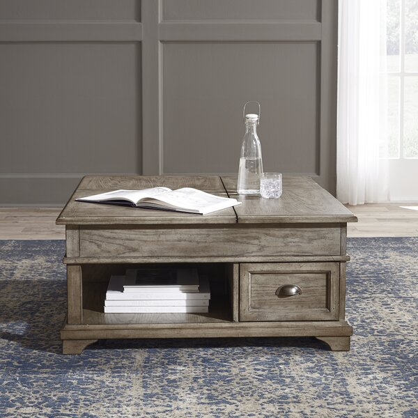 Carignan Lift Top Coffee Table with Storage by Darby Home Co