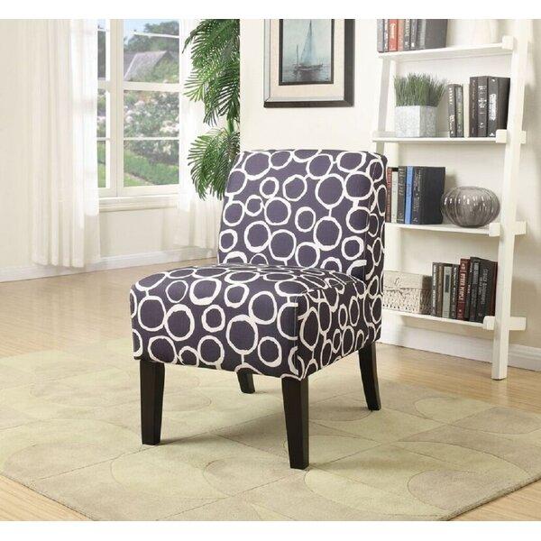 Doolittle Fabric Slipper Chair by Ebern Designs
